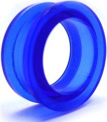 alargador vintage alargadores acrílico azul