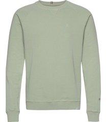 calais sweatshirt sweat-shirt tröja grön les deux