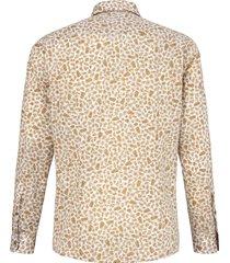overhemd van 100% katoen met cut-awaykraag van strellson multicolour