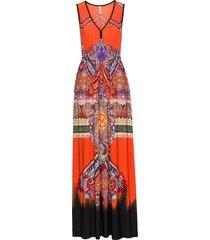 abito lungo (arancione) - bodyflirt boutique