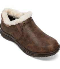 minnetonka women's erie faux-fur booties women's shoes