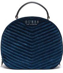 mochila azul guess