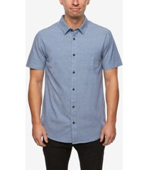 o'neill men's service short sleeve woven shirt