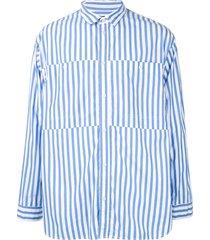 08sircus striped shirt - blue