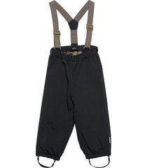 wilas suspenders pants, k outerwear snow/ski clothing snow/ski pants svart mini a ture