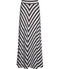 joelle skirt lång kjol multi/mönstrad lexington clothing