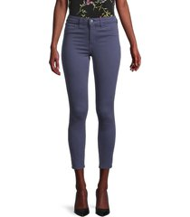 l'agence women's margot high-rise skinny ankle jeans - sea blue - size 23 (00)
