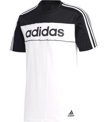 camiseta blanca adidas essentials tape gd5496 hombre