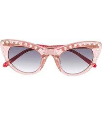 nº21 crystal embellished sunglasses - c3sun