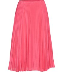 juliette skirt 10798 knälång kjol rosa samsøe samsøe