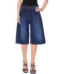 elisabetta franchi jeans denim bermudas