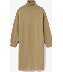cashmere blend turtleneck dress