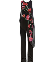 jumpsuit med chiffong