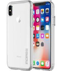 estuche para iphone x incipio dual pro pure -blanco