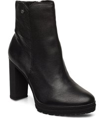 tessi shoes boots ankle boots ankle boots with heel svart dkny