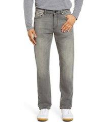 men's dl1961 avery modern straight leg jeans, size 33 x 32 - grey