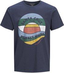jack & jones t-shirt plus size navy