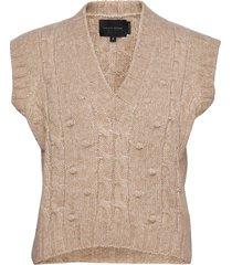 ellery knit vest vests knitted vests bruin birgitte herskind