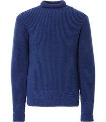 c17 cedixsept jeans old sailor nautical knit jumper   corvette blue   c17nau-cor