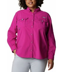 columbia plus size bahama shirt