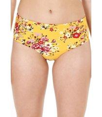 bikini calzón cruzado alto mostaza h2o wear