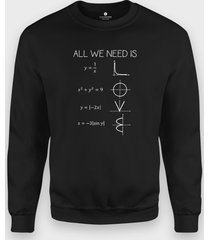 bluza all we need is...