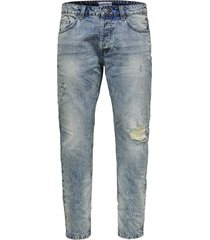 tapered jeans onsavi blue washed