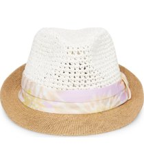 steve madden tie-dyed band fedora hat