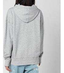 isabel marant étoile women's mansel hoodie - grey - fr 40/uk 12