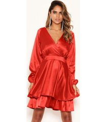 ax paris women's satin dress