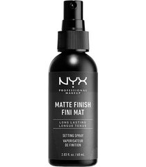 nyx professional makeup make up setting spray matte shine-free finish 60 ml primer transparent