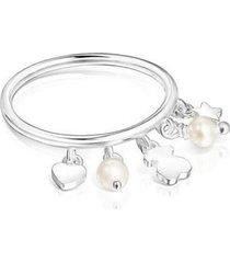 anillo tous en plata cool joy mujer 18155501