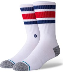 men's stance boyd st. socks, size large - blue