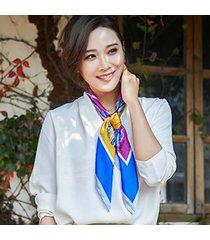 sciarpa professionale modello sciarpa quadrata traspirante sottile sciarpa professionale da donna