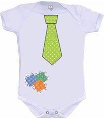 body divertido gravata camiseteria s.a. branco