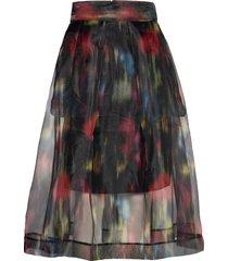 sashenka knälång kjol multi/mönstrad baum und pferdgarten