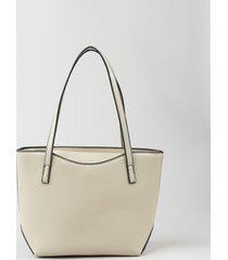 bolsa de ombro feminina shopper grande com alça removível kaki