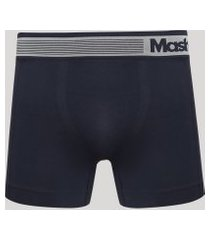 cueca masculina mash boxer sem costura azul marinho