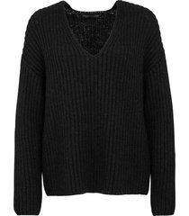 drykorn gebreide trui zwart