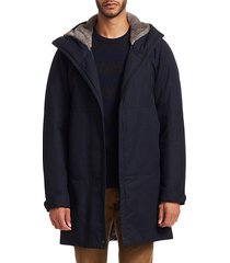 collection by esemplare faux fur-lined parka