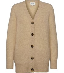 koorb knit cardigan gebreide trui cardigan beige second female