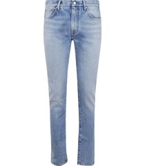 alanui slim 5pocket denim pants