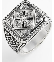 men's konstantino 'classics' cross square ring