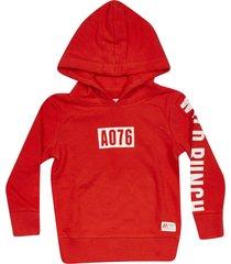american outfitters logo print hoodie