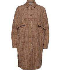 bryleighln oz shirt bci jurk knielengte bruin lounge nine