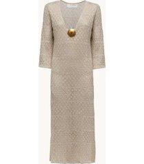 sundress abito lungo in maglia di cotone