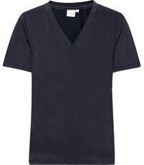 crmodala t-shirt t-shirts & tops short-sleeved blå cream