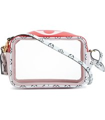 louis vuitton 2019 pre-owned beach pouch shoulder bag - pink