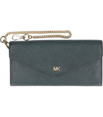 michael kors money pieces leather wallet