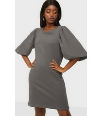 only onlgia s/s puff sweat dress swt loose fit dresses